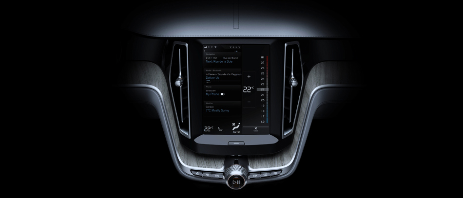 Interface Design & Creative Direction, Volvo Cars 2014
